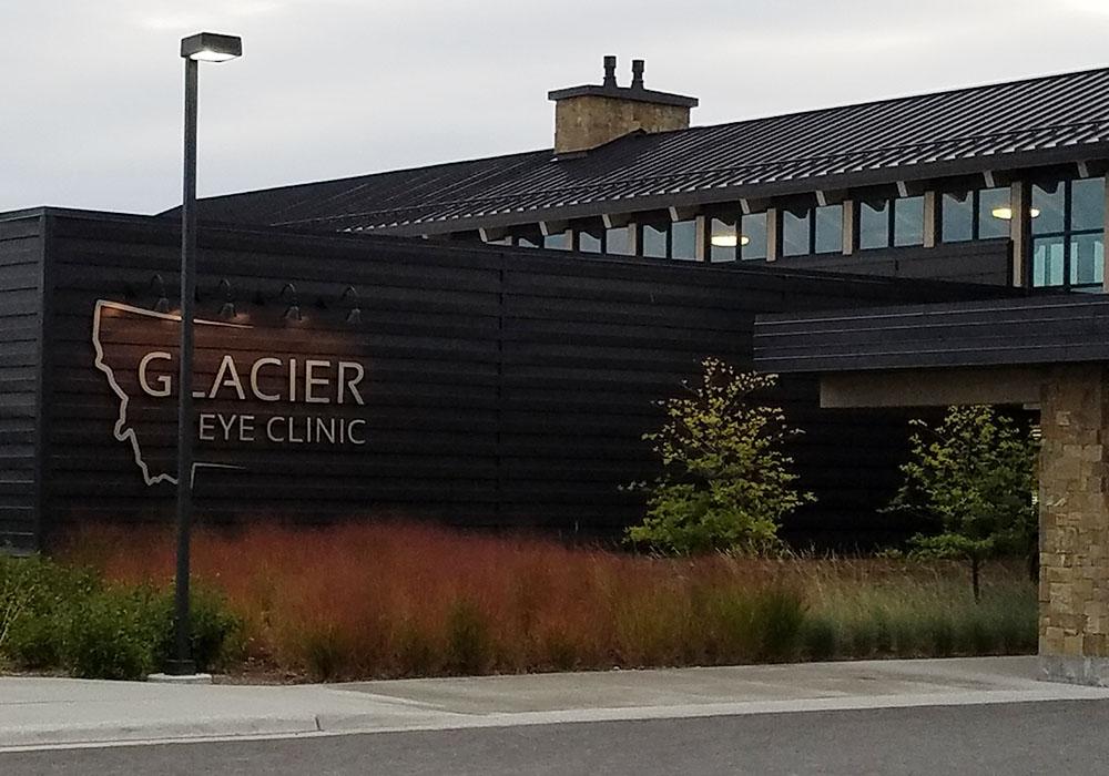 Glacier eye clinic
